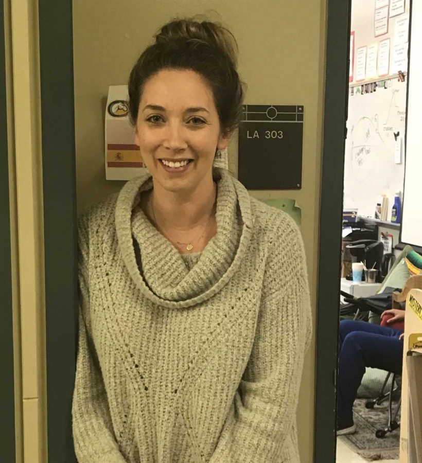 New English Teacher Ms. Kilgariff Gives Hope to Students
