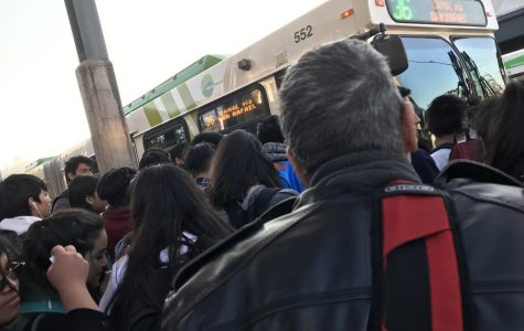 Crowding On Transit Frustrates SRHS Students