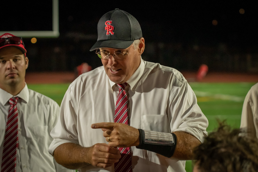 SRHS Football Coach Lubamersky is Community Involvement at Its Peak