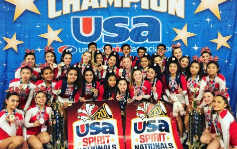 SRHS Cheer Rises to the Top
