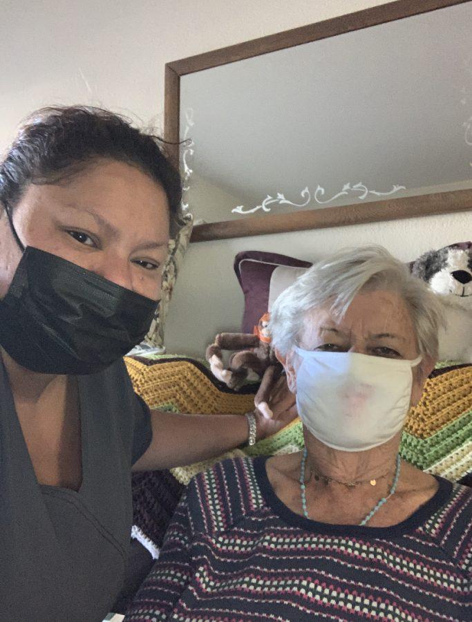 Sharon Cerna, Eldercare Worker