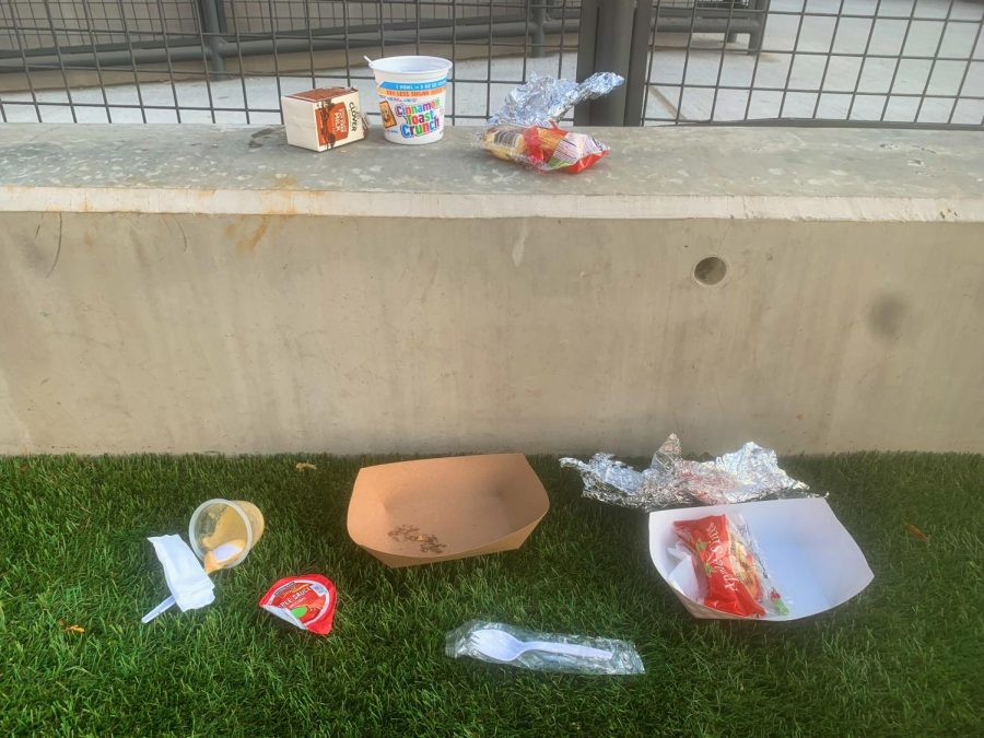 Students Trash Campus, Marring a Return to School